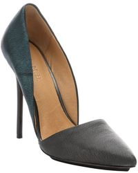 L.a.m.b. Ice Blue Pony Leather 'Trina' D'Orsay Stiletto Pumps - Lyst