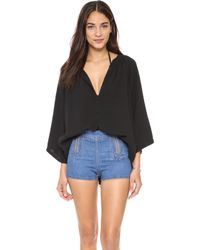 9seed - Marrakesh Casablanca Cover Up Top - Lyst