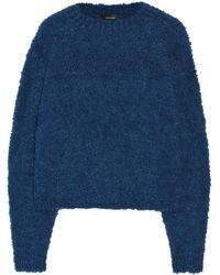 Isabel Marant Ottawa Bouclã-knit Sweater - Lyst