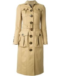 Burberry Prorsum Trench Coat - Lyst