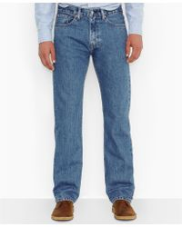 Levi's Big and Tall 505 Original Fit Medium Jeans - Lyst