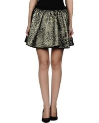 Pepe Jeans Mini Skirt - Lyst