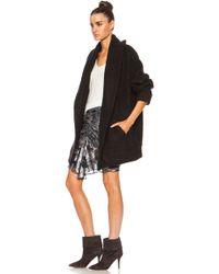 Inhabit Sweater Acrylicblend Coat - Lyst