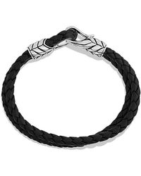 David Yurman Chevron Two-row Bracelet - Lyst