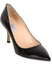 Semilla 75mm Patent Leather Pumps - Lyst