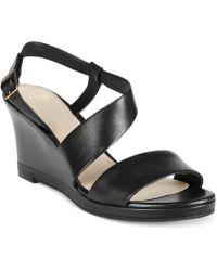 Cole Haan Women'S Ravenna Wedge Sandals - Lyst