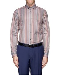 Paul Smith Signature Stripe Poplin Shirt - Lyst