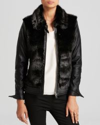 Blanknyc Jacket  Exclusive Faux Leather and Faux Fur - Lyst