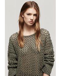 Rag & Bone Malory Side Split Pullover - Lyst