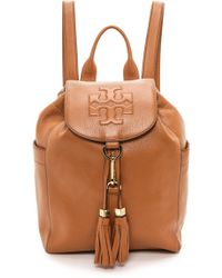 Tory Burch Thea Backpack - Bark - Lyst
