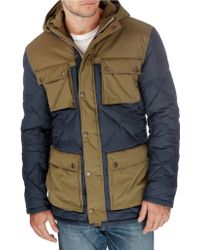 Lucky Brand - Contrast Quilted Parka - Lyst