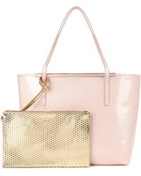 Ted Baker Crosshatch Shopper Bag - Lyst