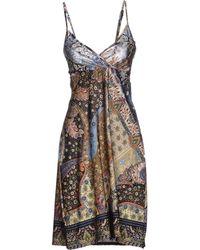 Options Short Dress - Lyst