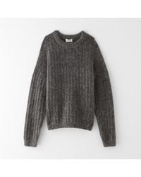Acne Studios Dramatic Mohair Sweater - Lyst