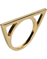 First People First Ring gold - Lyst