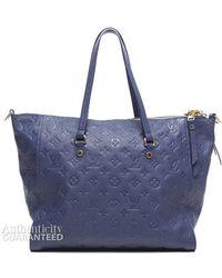 Louis Vuitton Pre-owned Celeste Empreinte Lumineuse Pm Bag - Lyst