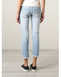 Dondup Distressed Skinny Jeans - Lyst