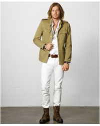 Denim & Supply Ralph Lauren Twill Officers Jacket - Lyst