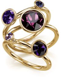 Ted Baker - Jewel Clustered Ring - Lyst