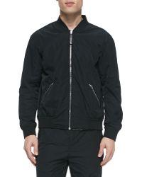 Alexander Wang Reversible Tie-Dye Bomber Jacket - Lyst