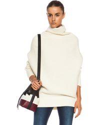 Acne Studios Galactic Wool Sweater - Lyst