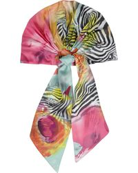 Eugenia Kim Gigi Printed Silkcharmeuse Headscarf - Lyst