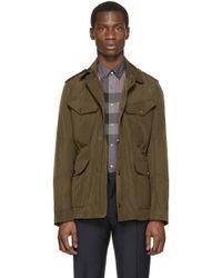 Burberry Brit - Green Barksworth Field Jacket - Lyst