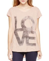 Two By Vince Camuto - Love Graphic Tee - Lyst