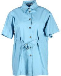 Celine Shirt blue - Lyst