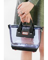 Hunter Original Clear Mini Tote Bag - Lyst