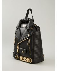 Moschino Biker Backpack - Lyst