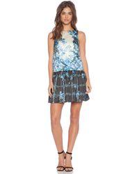 Tibi Sidewalk Floral Dress - Lyst