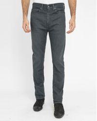 Levi's | Black Newby 522 Pr Tapered Slim-fit Jeans | Lyst