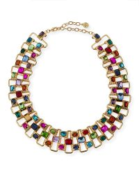 R.j. Graziano - Gold Multi Neck - Lyst