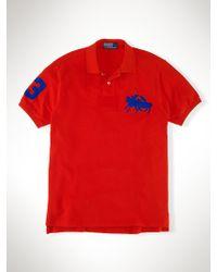 Polo Ralph Lauren Custom Dual Match Pony Polo - Lyst