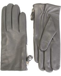 Orciani - Classic Zipped Gloves - Lyst