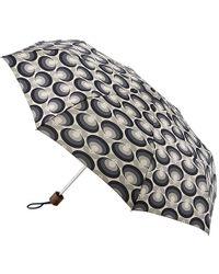 Orla Kiely - Minilite-2 Seventies Flower Oval Umbrella - Lyst