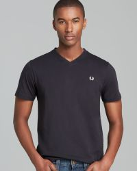 Fred Perry Classic V-Neck Tee - Lyst