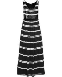 Alice By Temperley Daphne Sequinembellished Georgette Maxi Dress - Lyst