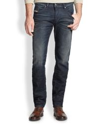 Diesel Belther Slimfit Jeans - Lyst