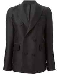 DSquared² Double Breasted Blazer - Lyst