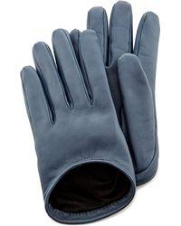 Oscar de la Renta - Leather Gloves - Lyst