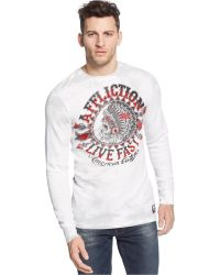 Affliction Ac Stampede Thermal - Lyst