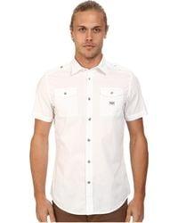 Diesel S-Koir-Short Shirt white - Lyst
