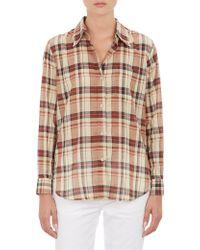Etoile Isabel Marant Plaid Flynn Shirt - Lyst
