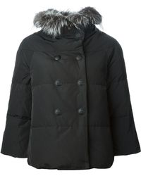Emilio Pucci Padded Double Breasted Coat - Lyst