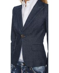 DSquared² Diana Jacket - Blue - Lyst