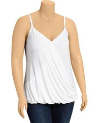 Old Navy Plus Wrapfront Camis - Lyst