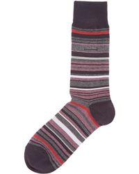 CALVIN KLEIN 205W39NYC - Barcode Stripe Sock - Lyst