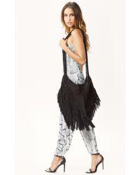 Indah Hand Crochet Fringe Hobo Bag - Lyst